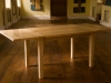 Extending table in solid sycamore
