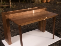 Walnut Tambour Desk